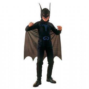 BAT MAN SUPER HERO FANCY DRESS COSTUME HALLOWEEN